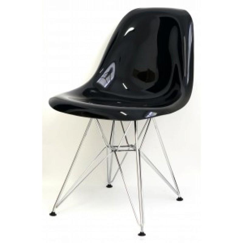 Cadeira DKR Policarbonato Aço Cromado